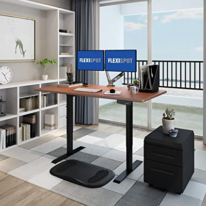 Home office standing desk Traditional Amazoncom Flexispot E2b Anticollision Technology Standing Desk Sit Stand Desk Home Office Adjustable Desk Frame Kitchen Dining Amazoncom Amazoncom Flexispot E2b Anticollision Technology Standing Desk