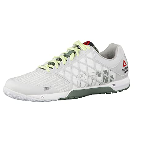 Reebok Crossfit Nano 4.0, Damen Indoor Pumps , weiß bianco