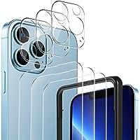 YOCKTECH för iPhone 13 Pro Max skärmskydd + kameralinsskydd (3+3-pack), ultratunn klar film härdat glas skärmskydd för…