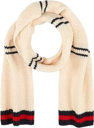 Scotch & Soda Knitted Teddy Scarf Bufanda, (Combo A 0217), Talla única (Talla del fabricante: OS) para Hombre