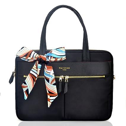 code promo c867a b268b Youpeck Sac pour ordinateur portable étanche pour femme, sac fourre-tout,  poche RFID ultra-fine en nylon, sac à main, style Business, sac à ...