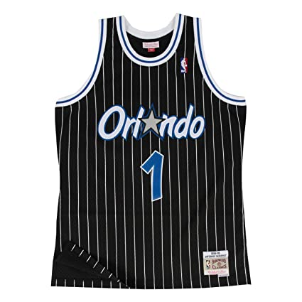 78c31d34a Penny Hardaway Orlando Magic Mitchell and Ness Men s Black Throwback Jesey  Small