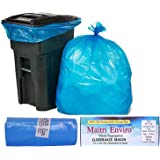 Maitri Eviro OXO Biodegradable Garbage Bag Roll (Blue , Large, 24x26 Inch, 54 Bags) Pack of 3