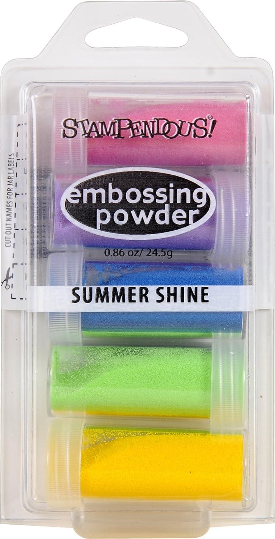 Stampendous Embossing Powder .86Oz summer Shine, Acrylic, Multicolour EK21