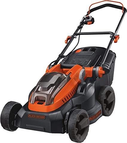 Black Decker Cordless Lawn Mowers - High cutter