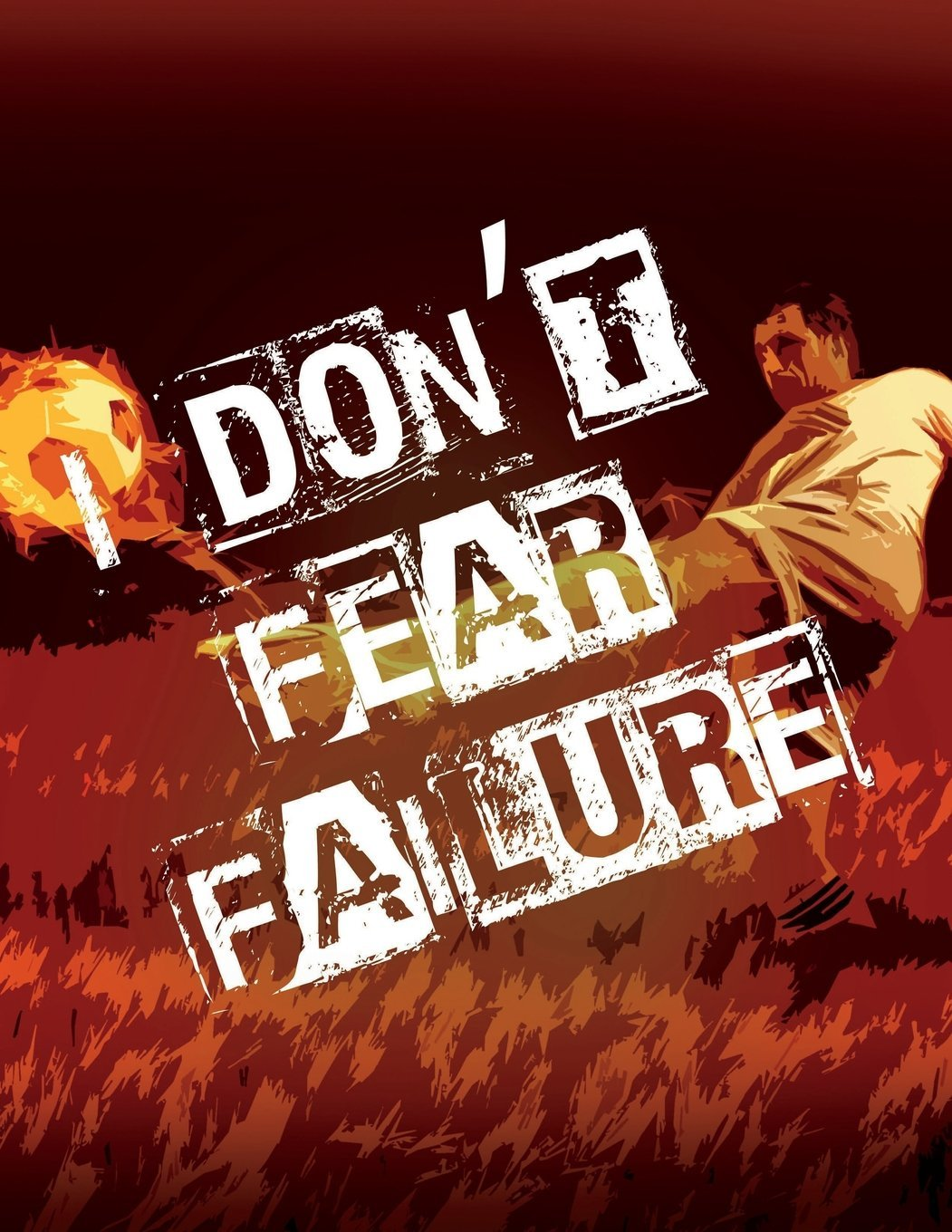 Read Online Soccer Coach Gifts: I Don't Fear Failure - Unique Composition Notebook for Soccer Coaches, Trainers, Teachers, Mentors, Referee and Managers, Men and ... Journal) (College Rule, 8.5 x 11 inches) ebook