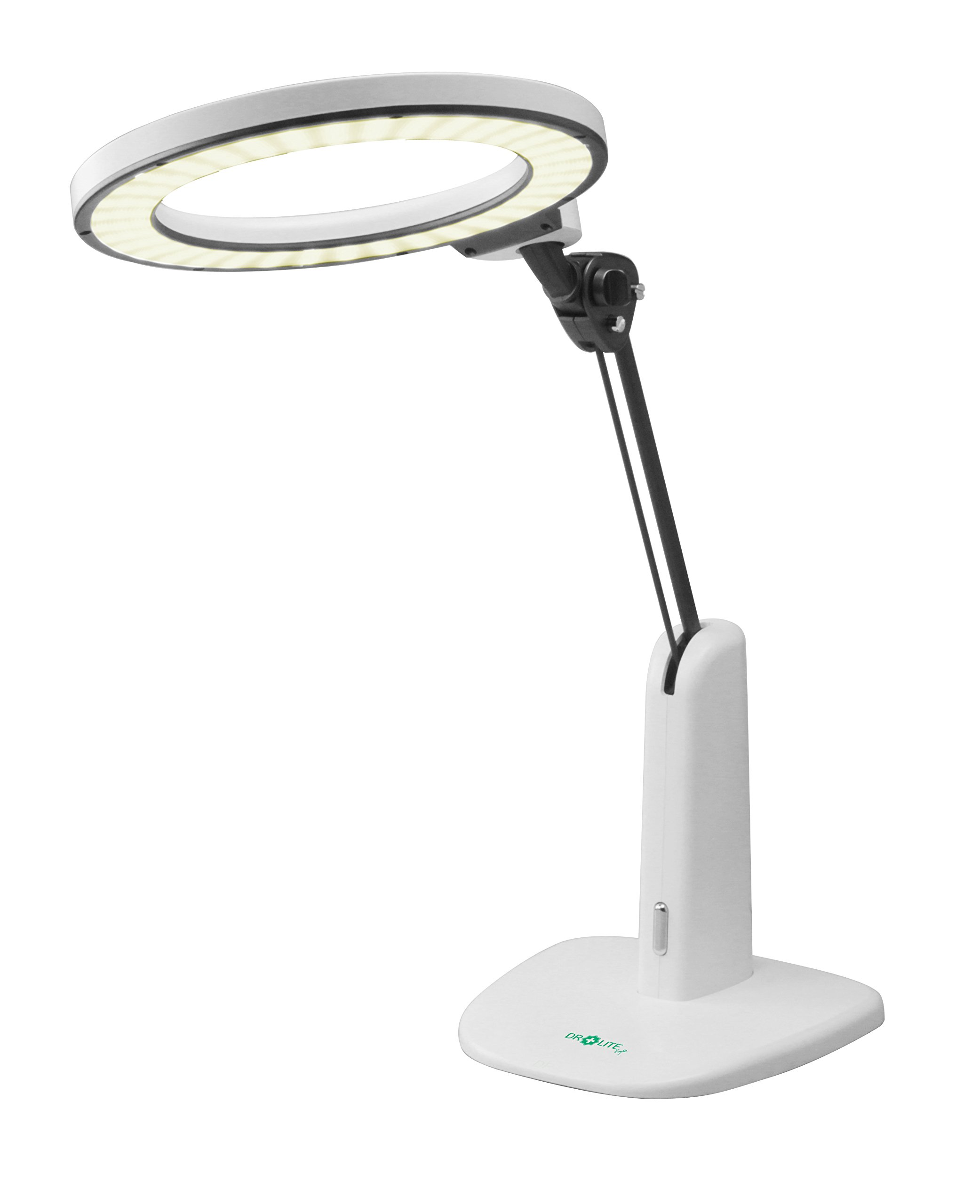 Dr. Lite- Angel Study Light | Patented''Blue Light Reduction'' Technology | EMC Safe | Significantly Reduced Table Glare | Computer Screen Glare Friendly | Ergonomic Design | UV Free | Flicker Free