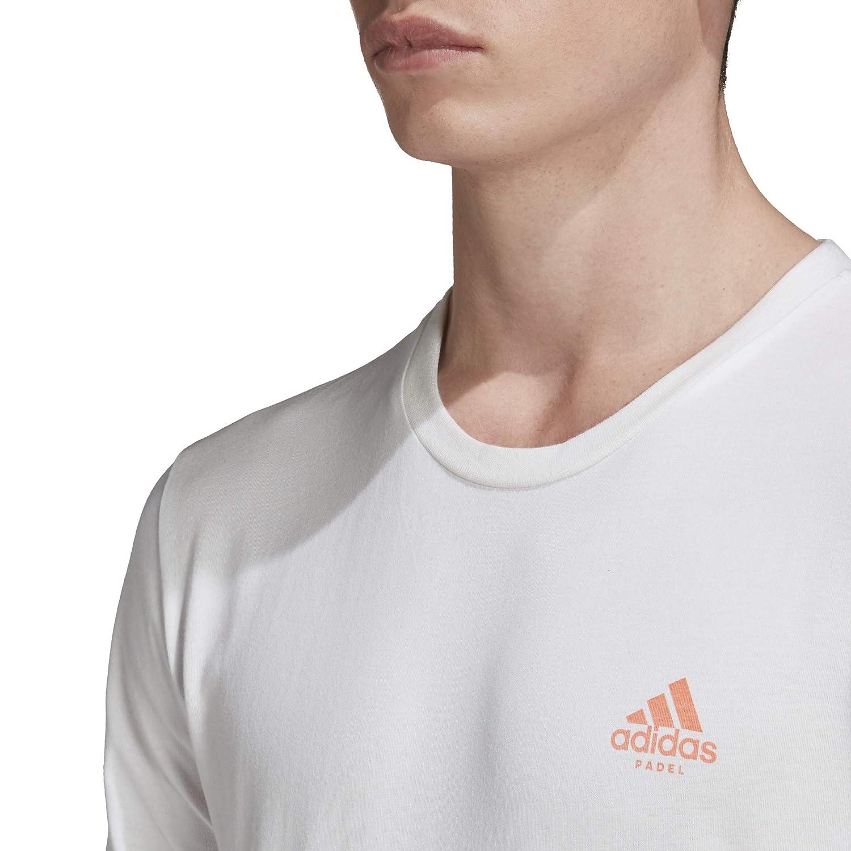 adidas Padel Concept T Camiseta, Hombre: Amazon.es: Deportes y ...