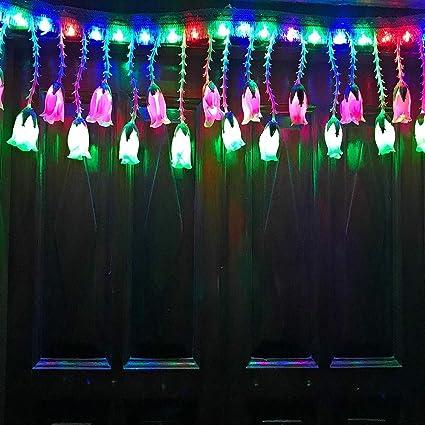 A2Z, 3Feet Multi Rose LED Lights Toran Bandhanwar for Diwali Home Festival  Decoration (Made in India)