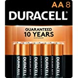 Duracell - CopperTop AA Alkaline Batteries - long lasting, all-purpose Double A battery for household and business - 8…