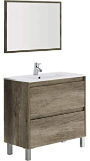 Mobile Bagno Da Incasso.Lavabo In Ceramica Da Incasso Cm 80x46 Dakota Aruba Amazon It