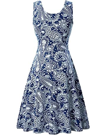 Hotkey® Women Dresses Floral Printed Cocktail Party Evening Mini Dress Beach Sundress for Summer