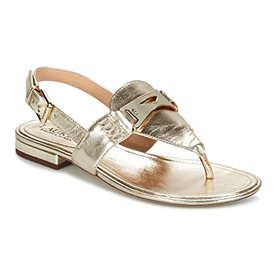 Sandalias Polo Ralph Lauren Dayna - Color - Dorado, Talla - 39 ...