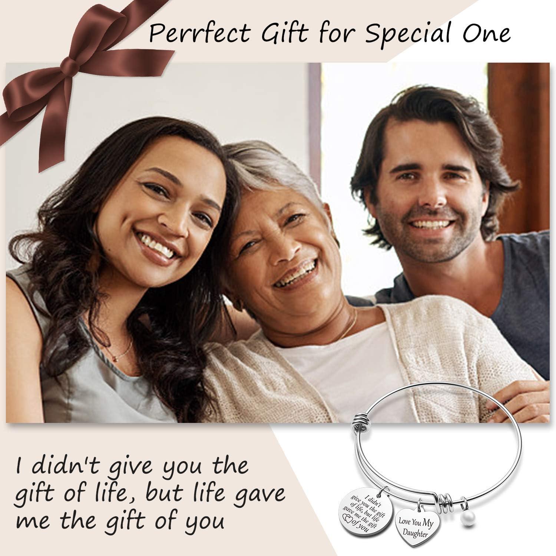 G-Ahora Bonus Daughter Bracelet I Didnt Give You The Gift of Life Stepdaughter Bracelet from Stepmom