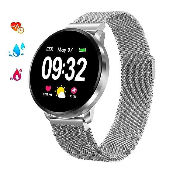 Smartwatch Deporte Hombre, Reloj Inteligente Hombre Monitores de Actividad Impermeable IP67 con Monitor de Sueño Pulsómetros Podómetro Contador de ...