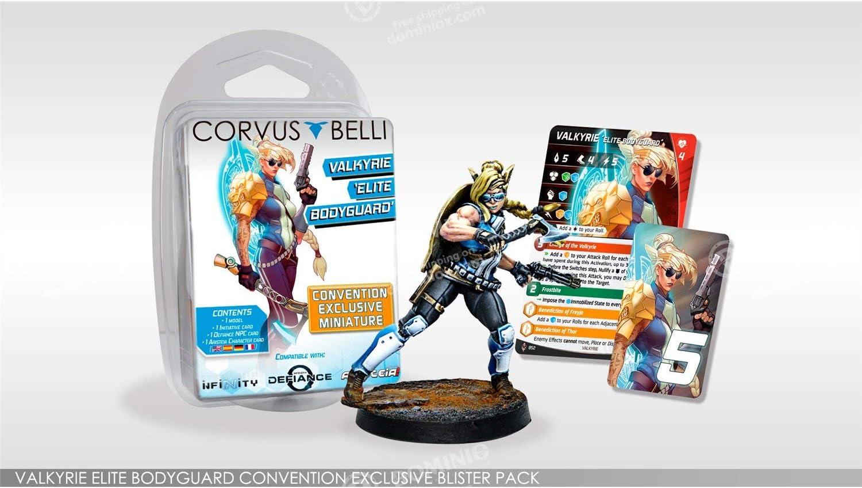 Infinity: NA2 - Valquiria, Elite Bodyguard (1) (para uso en Infinity y Aristeia): Amazon.es: Juguetes y juegos