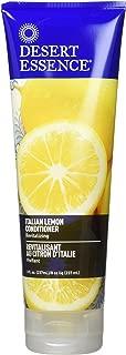 product image for Desert Essence Italian Lemon Conditioner - 8 Fl Ounce - Revitalizing Hair Detangler - Adds Volume - Shine & Strength - Scented - Aloe Vera - Vitamin B5 - Cruelty Free - No Parabens
