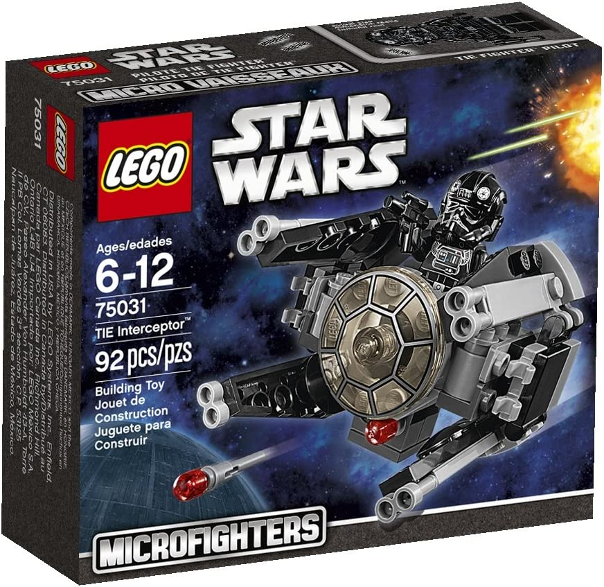 Lego, Star Wars Microfighters Series 1 TIE Interceptor (75031)