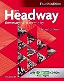 New Headway Elementary Fourth Edition Workbook + Ichecker with Key