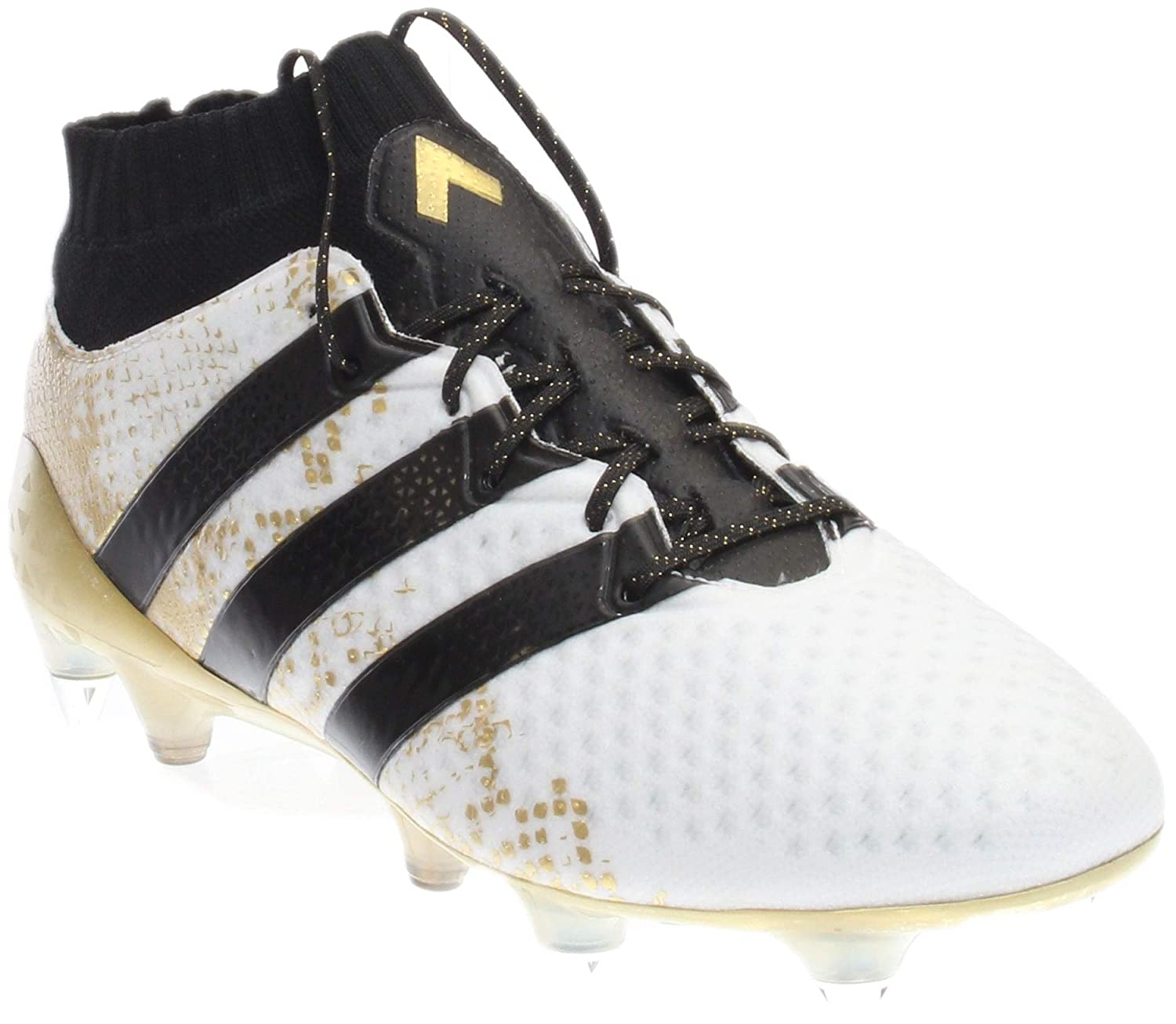 newest collection 47171 badb8 adidas Mens ACE 16.1 Primeknit SG Soccer Athletic Cleats