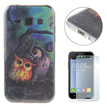 Samsung Galaxy J1 2015 Version Case [with Free Screen Protector],CaseHome Unique  Stylish