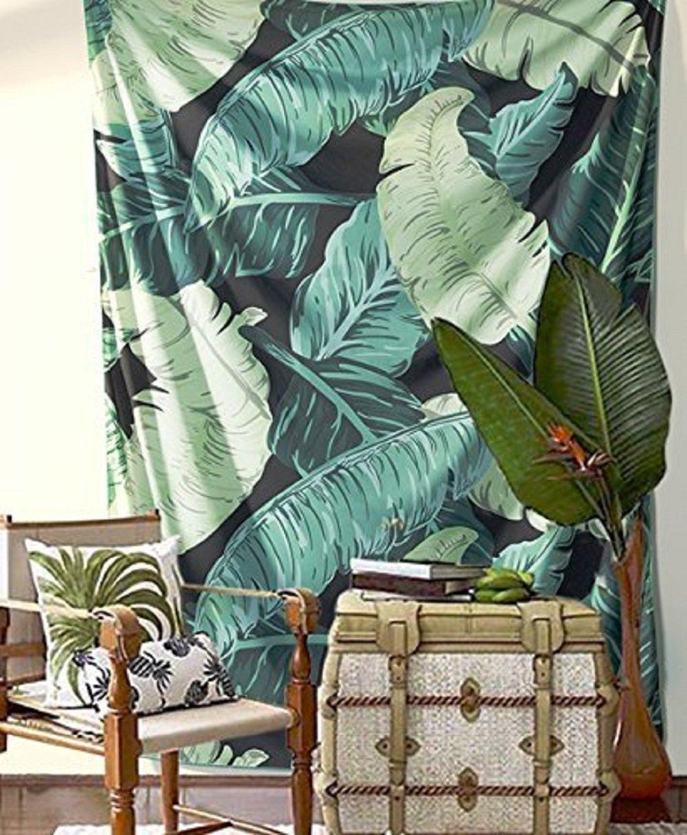 banana leaves decor amazon com