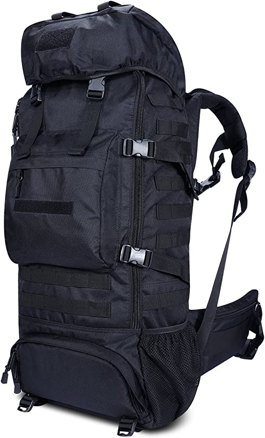 Gonex Hiking Backpack 70L Internal Frame Outdoor Tactical Military Backpack