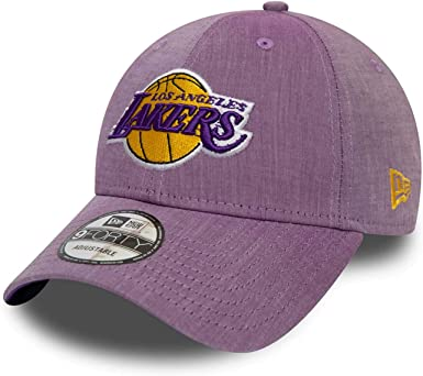 A NEW ERA Era Chambray League Los Angeles Lakers Gorra: Amazon.es ...
