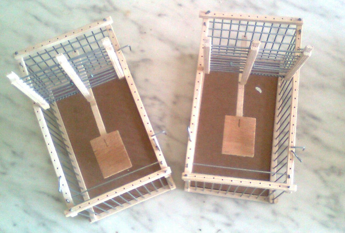 Set of Two Bird Trap Cages : : Can be Used as Transport Cages Me