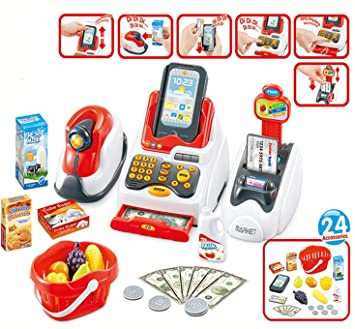 Pinnappo Cash Register Play Set Toys for Kids