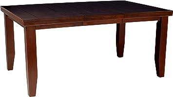 Amazon Com Acme 4620 Birch Veneer Dining Table Country Cherry Finish Chairs