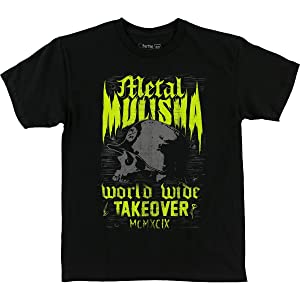 Metal Mulisha Boys Grain Short-Sleeve Shirt X-Large Black