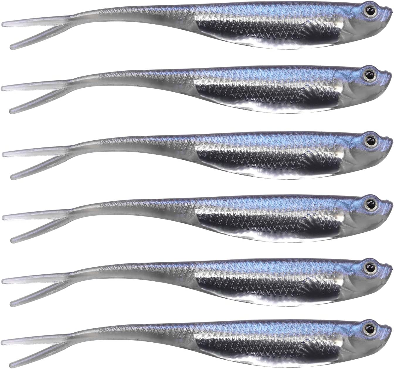 Perch//Pike//Chub S2Z 10pcs Real Minnow Bait Drop Shot LRF Soft Fishing Lure