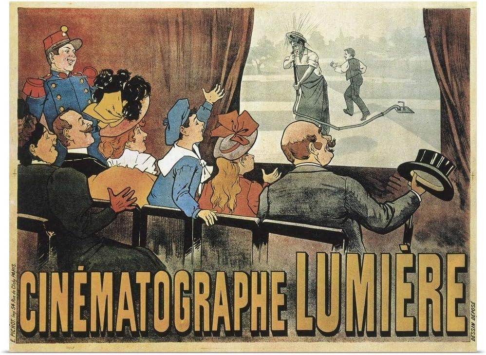 Louis Lumiere L/'arroseur arrosé 1895 movie poster print