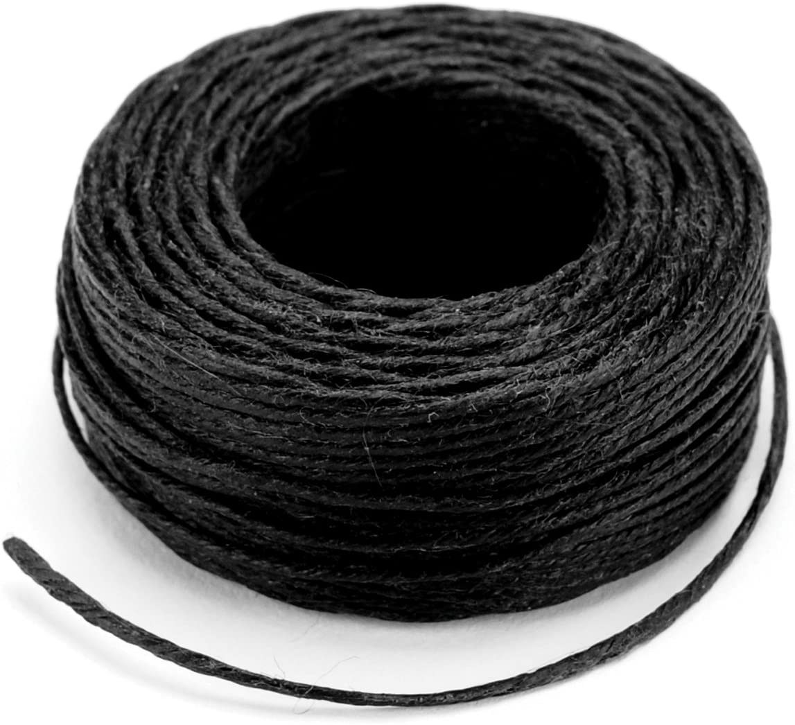 Tandy Leather Waxed Braided Cord 25 yds. 22.9 m