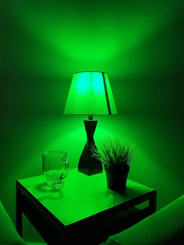 Blue Sunlite 81080 LED Filament A19 Standard Colored Transparent Dimmable Light Bulb 2 Pack