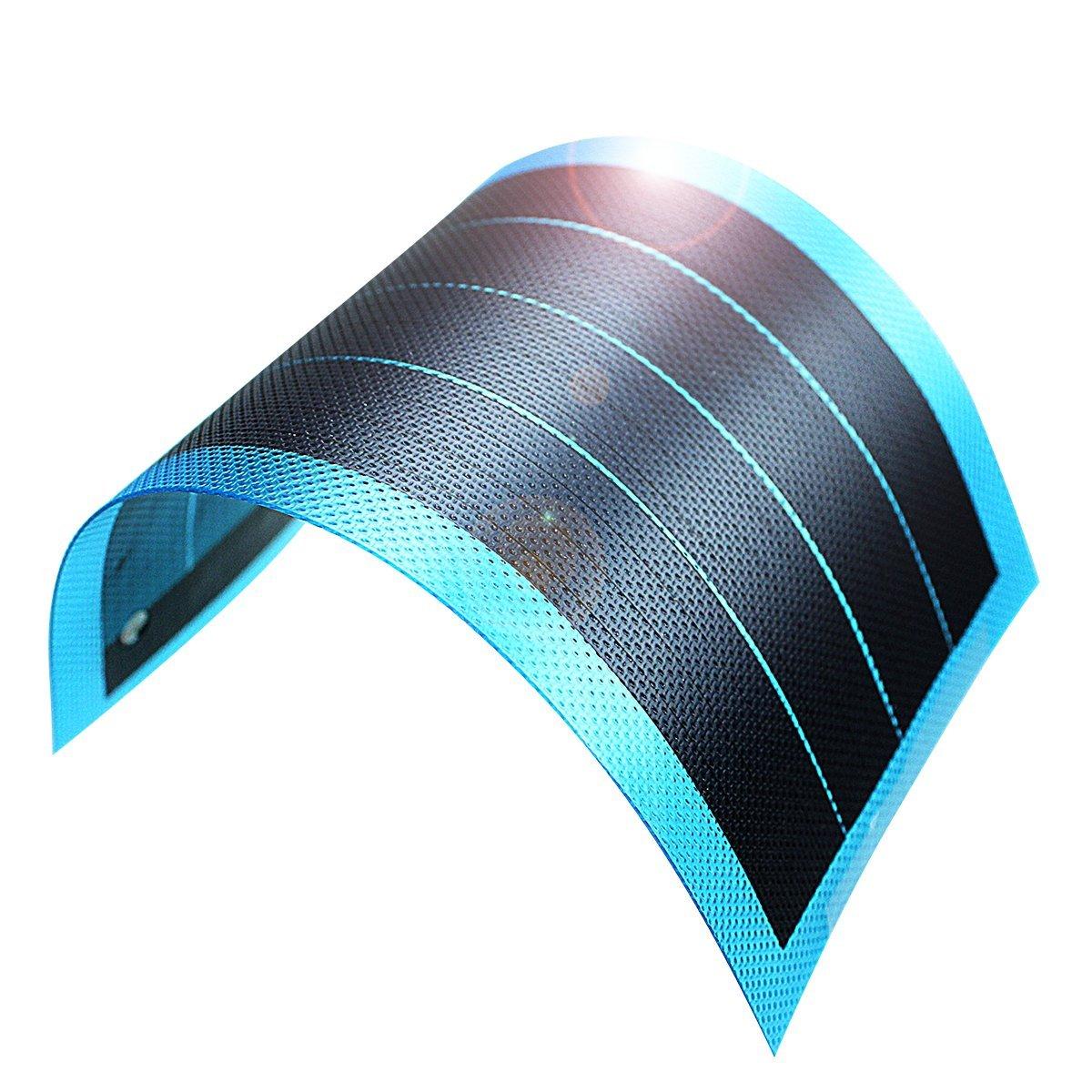 jiang Film l¨¦ger flexible Panneau solaire module DIY 1?W 6?V Panneau batterie rechargeable¡ sloe1W6