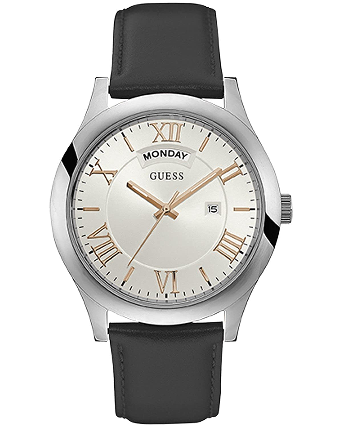 Guess Analog White Dial Best Mens Watches Under 5000 in India to buy in 2019 - Reviews & Buyers Guide