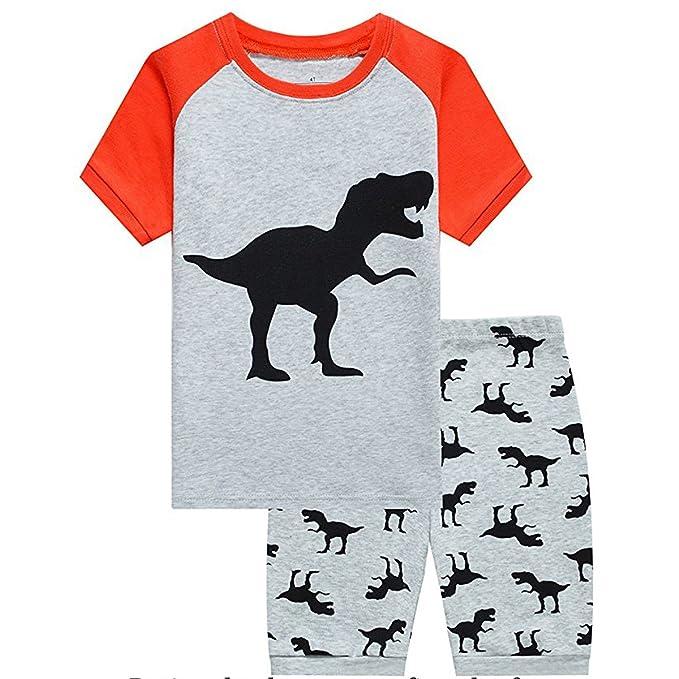Amazon.com: Conjunto de ropa para bebé, cuello redondo ...