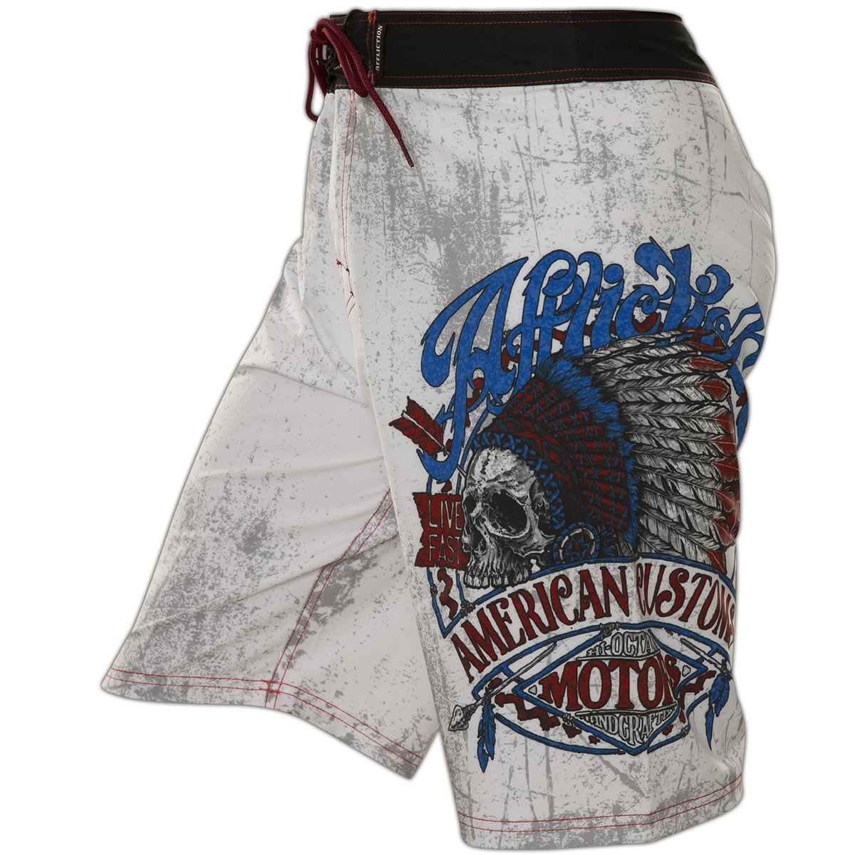 21670a942d Affliction AC Vision Quest Boardshorts at Amazon Men's Clothing store: