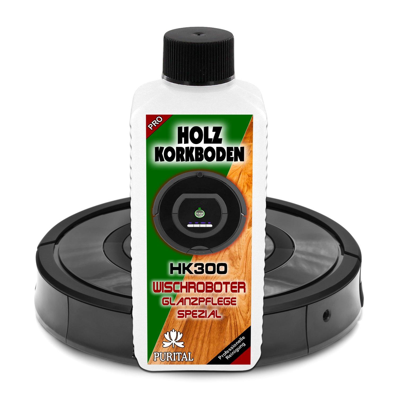 hk300 Madera + corcho suelo brillo limpiador para robot, - Robot aspirador, Robot de limpieza y - Robot aspirador - Limpieza y Cuidado Medio: Amazon.es: ...