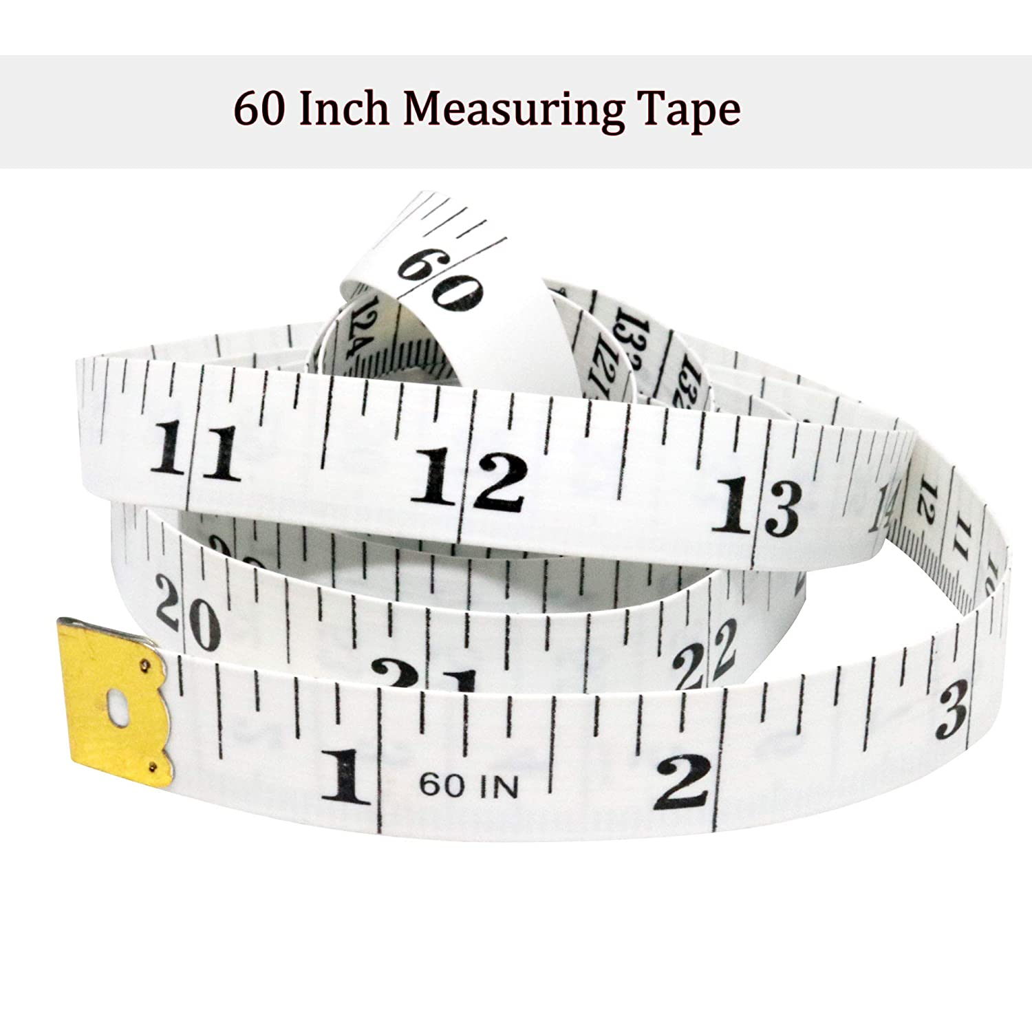 """60/"""" Measuring Tap for Body Cloth Sewing Flexible Tailor Measuring Tape 2PCS Sot Measuring Tape Centimeter and Inch Tape Measuring"""