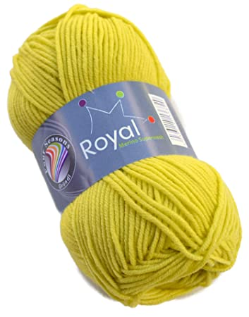 Gründl Royal Merino Superwash Wolle Fb 15 Lime Merinowolle