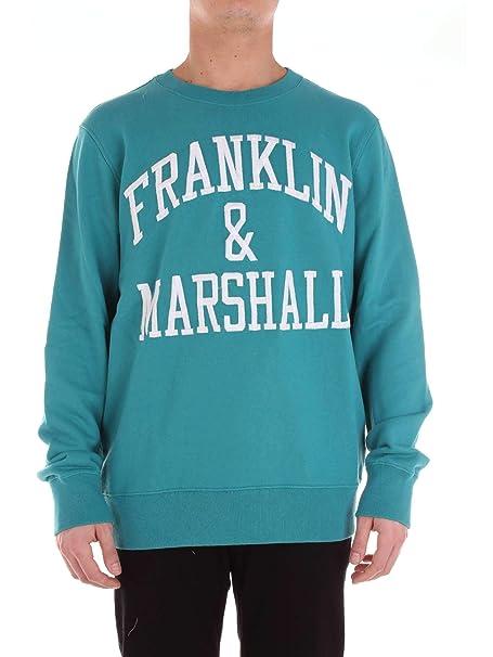 Franklin and Marshall FLMF063ANS19 Sudadera Hombre Botella Verde L: Amazon.es: Ropa y accesorios
