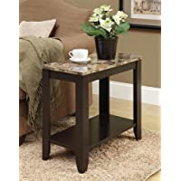 ACCENT TABLE - MARBLE TOP