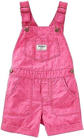 ae7d54787a3 Amazon.com  OshKosh B Gosh Baby Girls  Shortall 11878110  Clothing