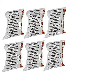 FrothClean - Pastillas descalcificadoras compatibles con máquinas de café Bosch Tassimo Senseo Nespresso Dolce Gusto (6 tabletas) ?: Amazon.es: Hogar