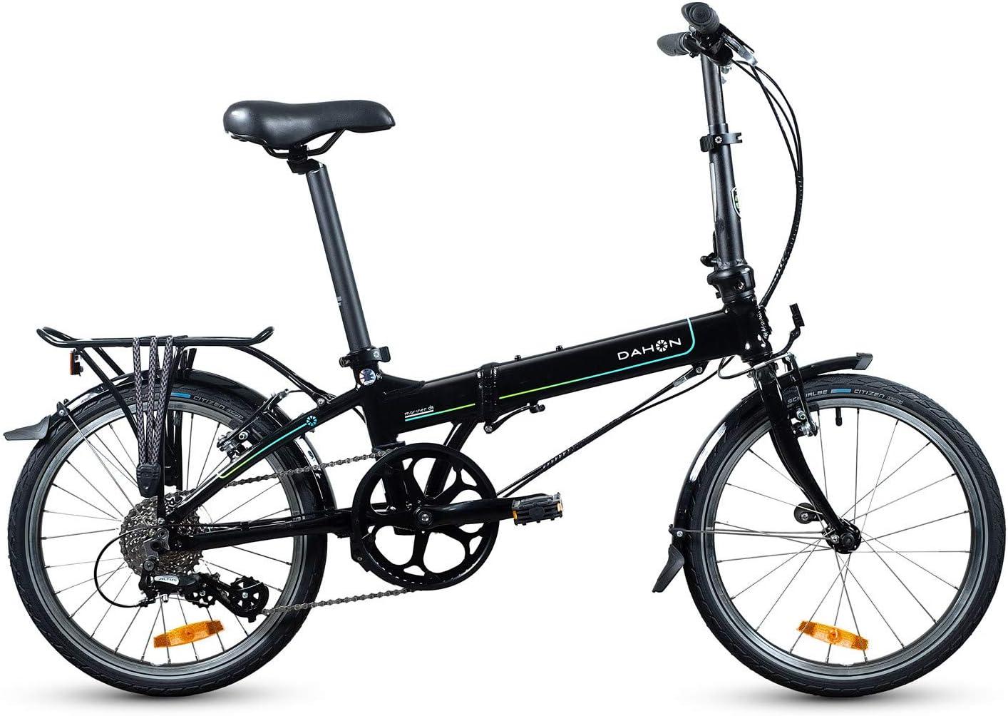 Dahon Bicicleta Plegable Mariner D8 Color Negro, Adultos Unisex ...