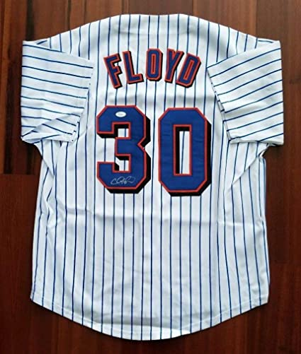6765558c Cliff Floyd Autographed Signed Jersey New York Mets JSA at Amazon's Sports  Collectibles Store