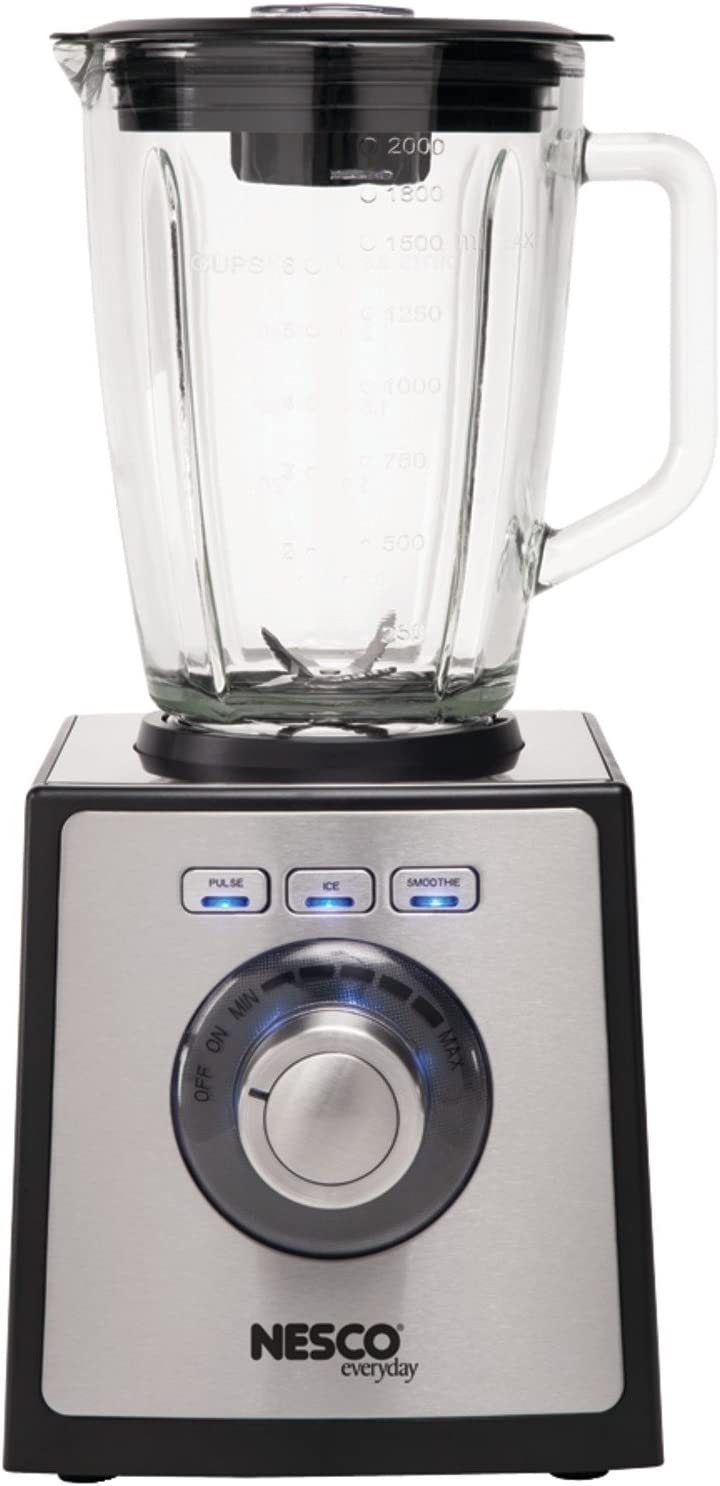 NESCO BL-50, Blender with Stainless Steel Trim, Black, 700 watts